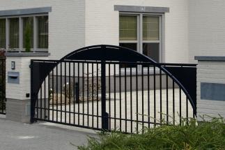 Moderne poort Laarbeek
